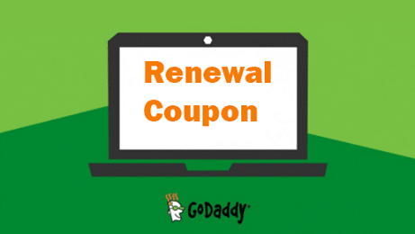 GoDaddy Renewal Coupon Codes Save 27% For January 2019